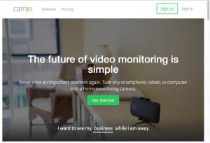 Camio Überwachungskamera App