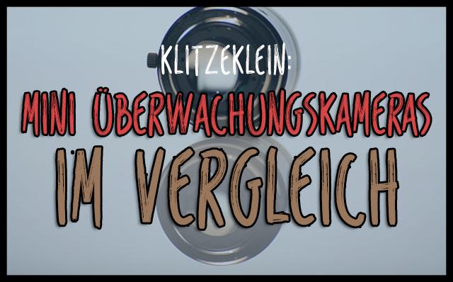 Mini Überwachungskamera: Klitzeklein und sehr nützlich