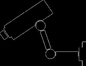 Kamera mit Bewegungsmelder