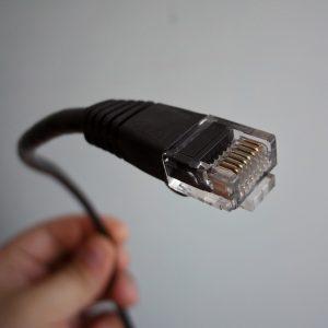 POE Überwachungskamera - Ethernet Kabel
