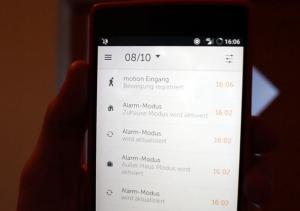 Protokoll Gigaset Elements App