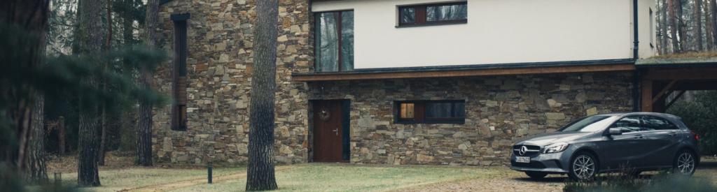 Bewohntes Haus