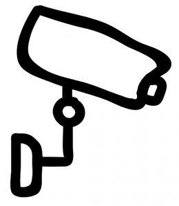 Kleine Überwachungskamera