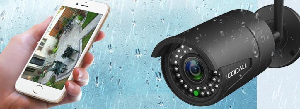 COOAU Überwachungskamera Test