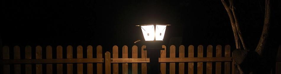 Garten nachts beleuchten