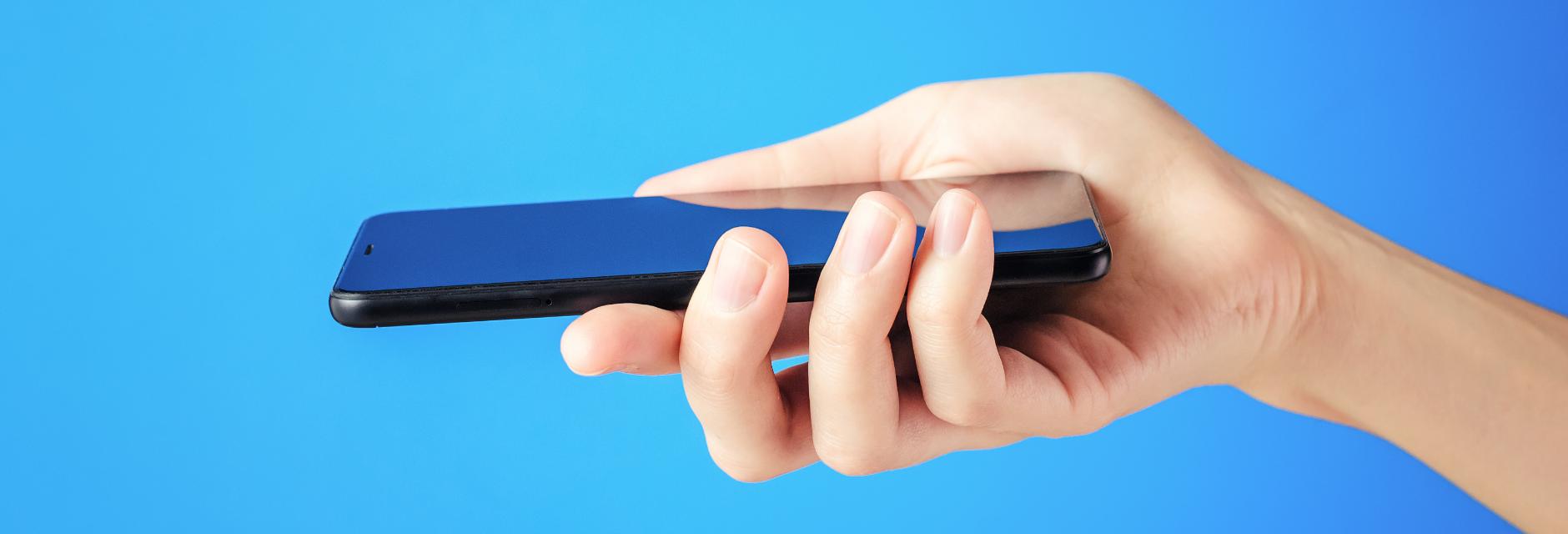 Smartphone um versteckte Kamera zu finden